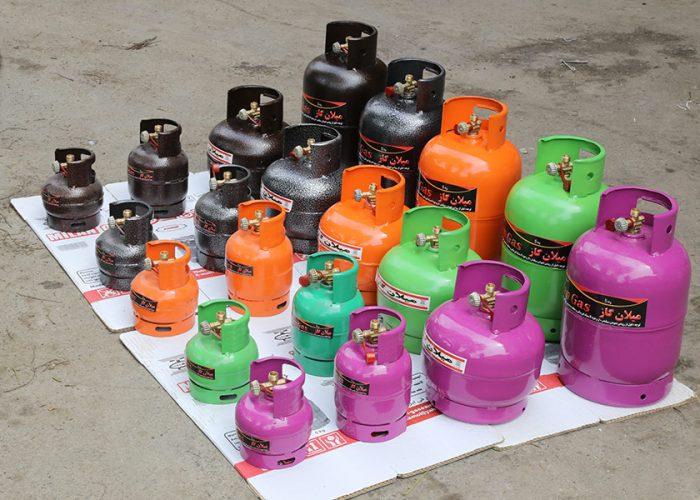 مدل های سیلندر گاز مایع