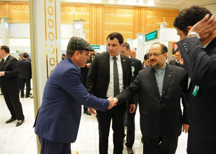 نمایشگاه ترکمنستان اسفند  96
